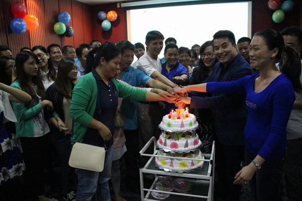 Global Chemicals' Third Birthday Party in 2015